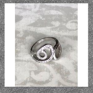 Lia Sophia Statement Ring Size 10